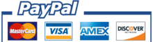 Make your payments with PayPal. It is free, secure, effective.